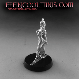 Slave Vivienne Tabbed Base Pewter Miniature