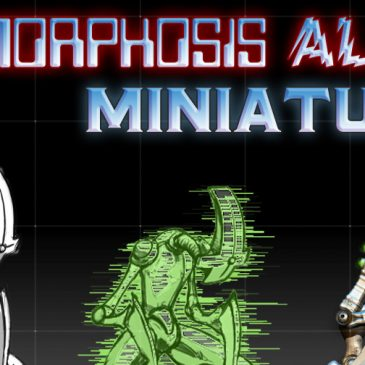 Metamorphosis Alpha(tm) Minis – Kickstarter- Concept 1 to 3D Render