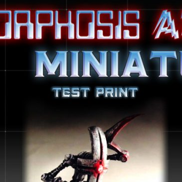 Metamorphosis Alpha(tm) Minis – Kickstarter- Concept 1 Test Print