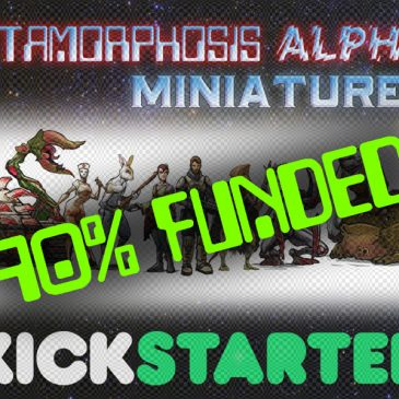 Metamorphosis Alpha™ Miniatures – Kickstarter 90% Funded