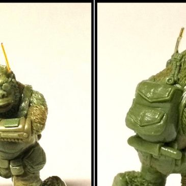 Metamorphosis Alpha™ Miniatures – Jason Wiebe Completed Gorilloid!