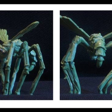 Metamorphosis Alpha™ Miniatures – George Fairlamb Completed Flying Spider!