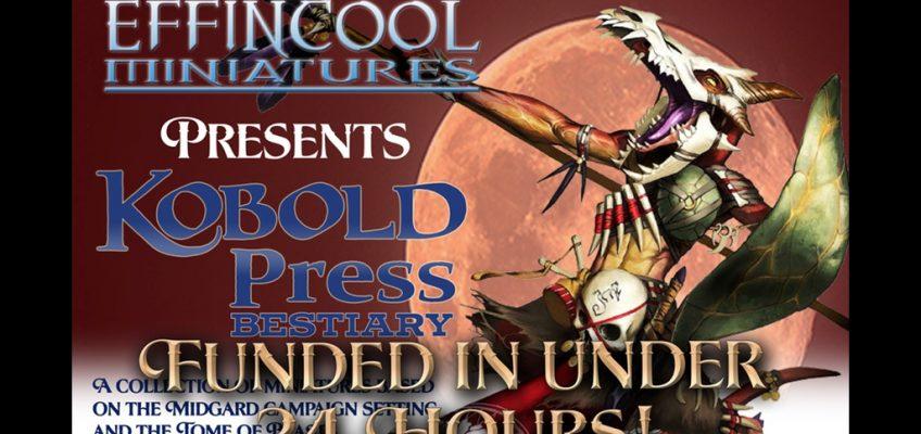 Kobold Press Bestiary – Tome of Beast Backers Start Unlocking Stretch Goals
