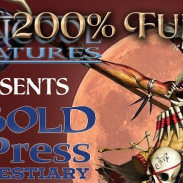 Kobold Press Bestiary – 29/60 Miniatures Unlocked End of Day 5