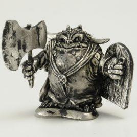 Oldschool Goblin with Axe & Shield