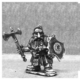 Dwarf of the Iron Crags with Axe