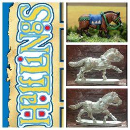 Halfling Pony Set of 3