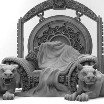All sculpts for Court of the Sultana Kickstarter Completed