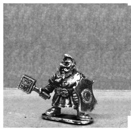Dwarf of the Iron Crags with Hammer