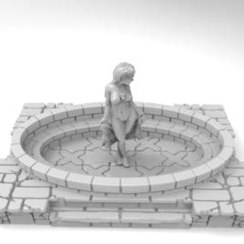 Bath Piece by Effincool Miniature