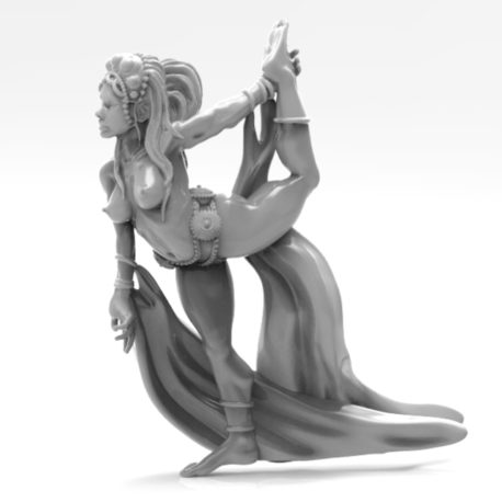 Cloth Dancer by Effincool Miniatures