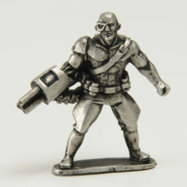 Cyborg Sarn from Metamorphosis Alpha