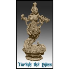 The Djinn from Effincool Miniatures