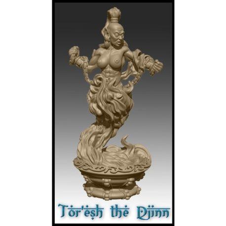 The Djinn from Effincool Miniatures