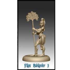 Fan Bearer by Effincool Miniatures