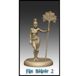 Fan Bearer 2 by Effincool Miniatures