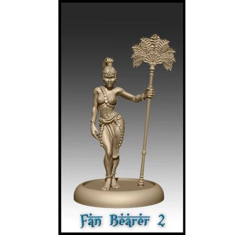 Fan Bearer 2 by Effincool Miniatures