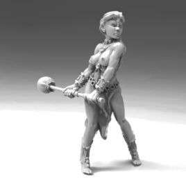 Gong Player by Effincool Miniatures