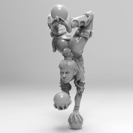 Crystal Ball Juggler by Effincool Miniatures