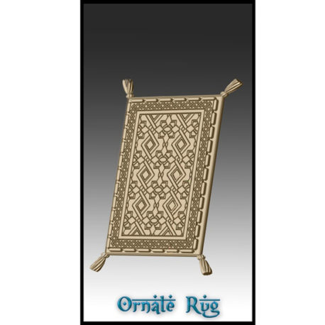 Ornate Rug from Effincool Miniatures