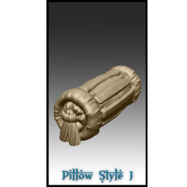 Pillows from Effincool Miniatures