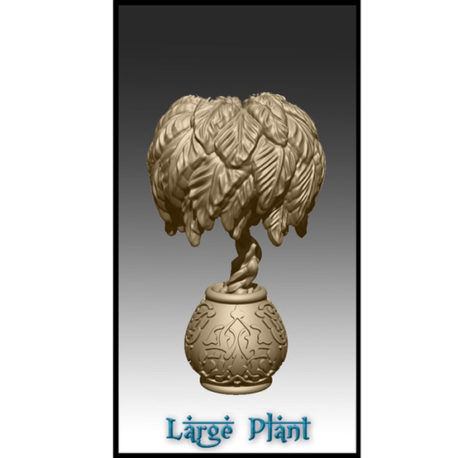 Large Plant by Effincool Miniatures