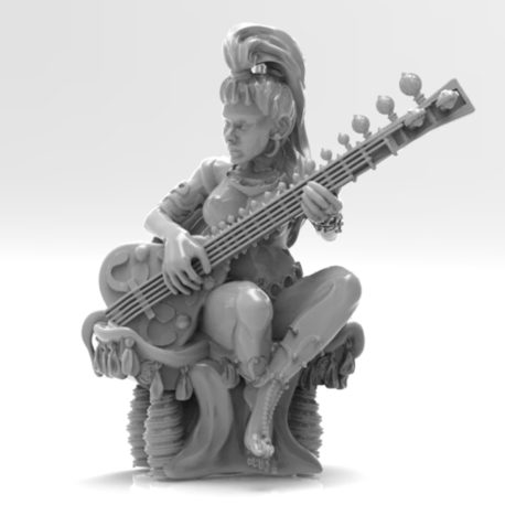 The Sitarist by Effincool Miniatures