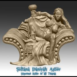 The Sultana by Effincool Miniatures