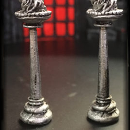 Torch Brazier by Effincool Miniatures