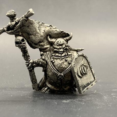 Old School Goblin Bannerman