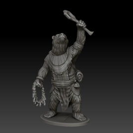 kobold press bearfolk cleric