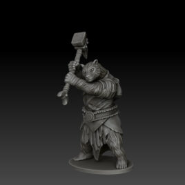 kobold press bearfolk fighter