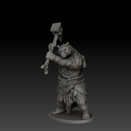 kobold press bearfolk fighter