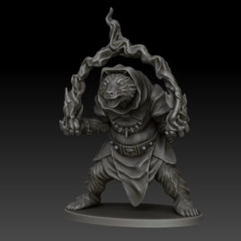 kobold press bearfolk wizard