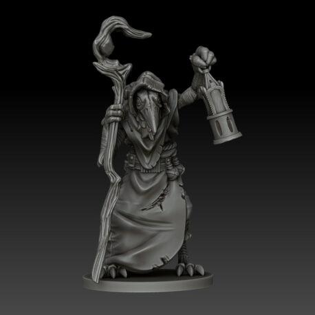 kobold press ravenfolk cleric