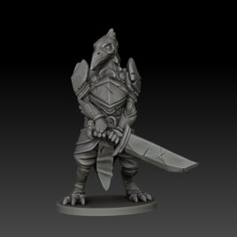 kobold press ravenfolk fighter