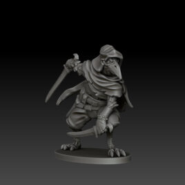 kobold press ravenfolk rogue