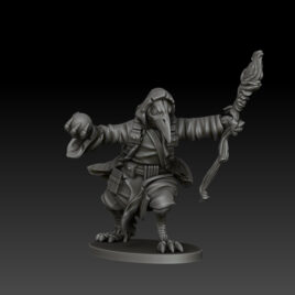 kobold press ravenfolk wizard